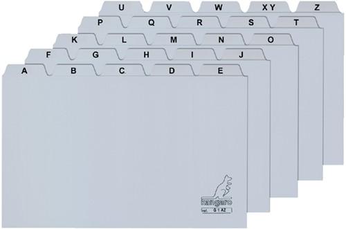 ALFABET HF2 85X105MM PP GRIJS -SYSTEEMKAARTEN 207000 Syteemkaarten