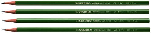 POTLOOD STABILO GREENGRAPH HB -POTLODEN 6003/HB