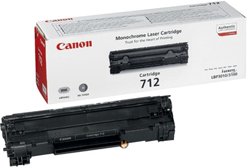 TONERCARTRIDGE CANON 712 1.5K ZWART -CANON TONER CANL712