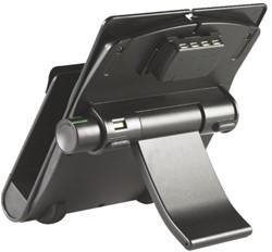 LAPTOPSTANDAARD INCL USB 4 POORTEN -NOTEBOOKSTANDAARDEN/ARMEN 60723EU COMPUTERKABELS