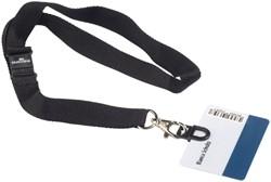 TEXTIELKOORD DURABLE MET CARD FIX 8187 -VEILIGHEIDSPASHOUDERS 818701 BADGES