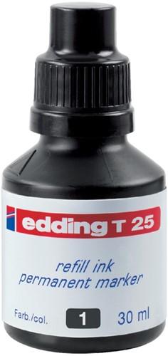 VILTSTIFTINKT EDDING T25 ZWART -VILTSTIFTEN 4-T25001 Viltstiftennav