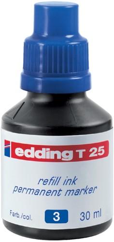 VILTSTIFTINKT EDDING T25 BLAUW -VILTSTIFTEN 4-T25003 Viltstiftennav