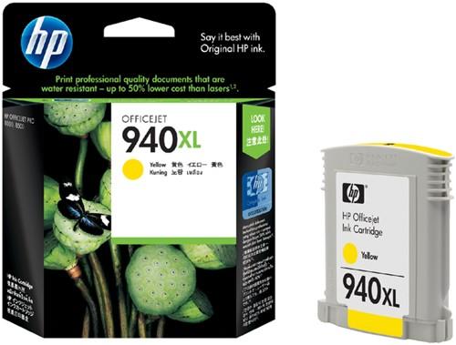 INKCARTRIDGE HP 940XL C4909AE HC GEEL -HP INKJET 1466418