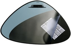 ONDERLEGGER DURABLE 69X51CM ZWART -ONDERLEGGERS 720801 SCHRIJFONDERLEG
