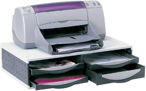PRINTERSTANDAARD FELLOWES INCL LADES GS -PRINTERSTANDAARDS 24004 Printertoebehor