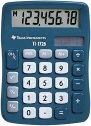 REKENMACHINE TEXAS TI-1726 SUPER VIEW -BUREAUREKENMACHINES 1726/FBL/11E1 REKENMACHINE TI1726