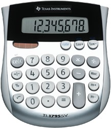 REKENMACHINE TEXAS TI-1795 SUPER VIEW -BUREAUREKENMACHINES 1795SV/FBL/11E1 REKENMACHINE TI1795 SV