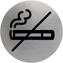 INFOBORD PICTOGRAM DURABLE NIET ROKEN -PICTOGRAMMEN 491123 ROND 83MM