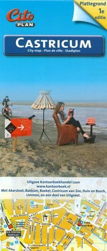 Plattegrond van Castricum, Bakkum Limmen -05224 Citoplan Akersloot en deel van Uitgeest