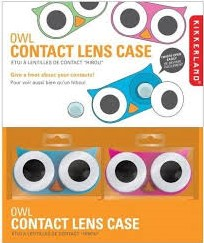 OWL CONTACT LENS CASE ASSORTED 1 ST