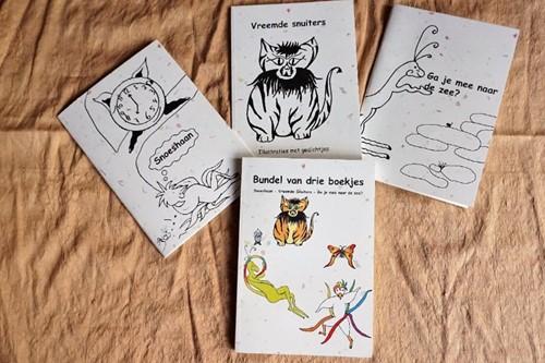 Bundel van drie boekjes + cd Tanja Koet